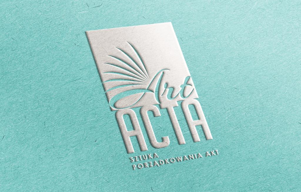 Art Acta - alternatywna wersja logo