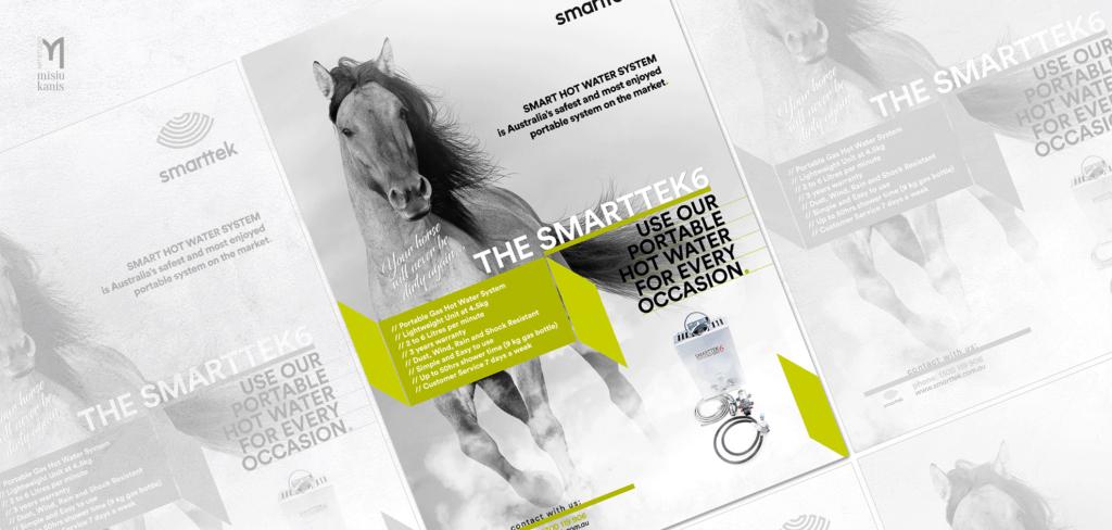 Reklama prasowa - Smarttek