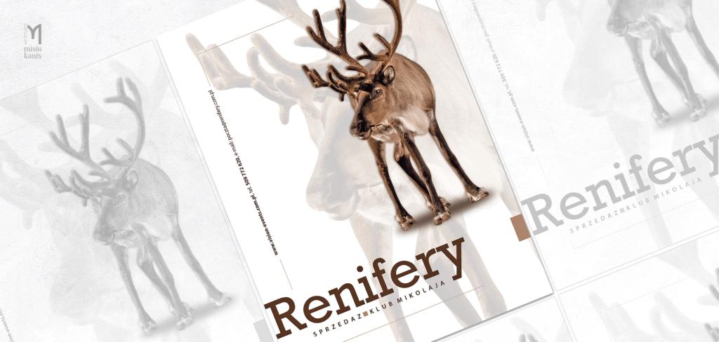 Reklama prasowa - Renifery