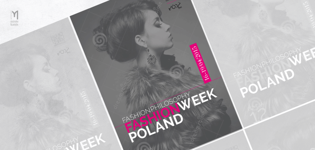 Reklama prasowa - Fashion Week Poland