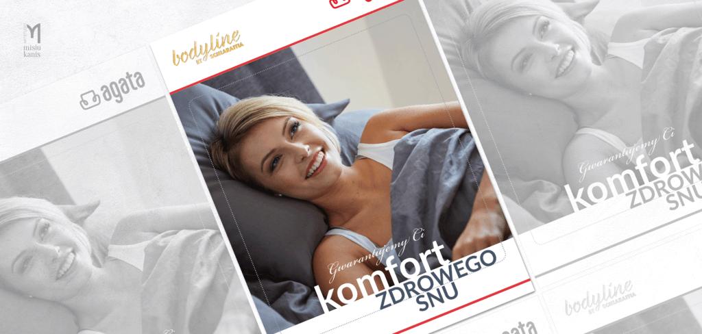 Plakat komercyjny - Bodyline by Schlaraffia