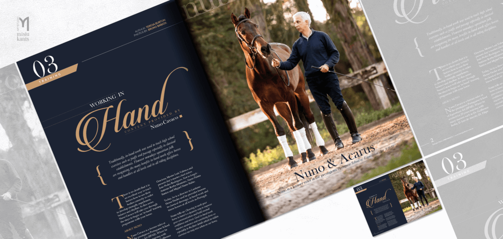 Baroque horse magazine