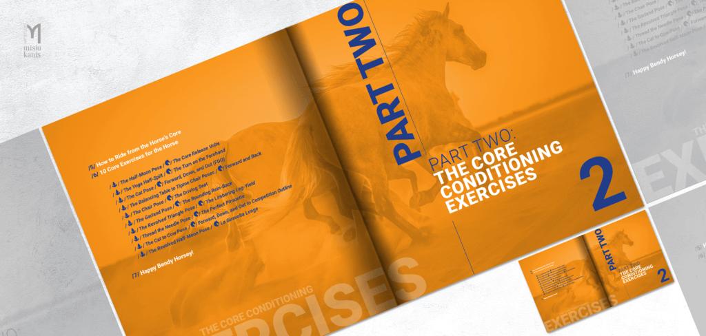 Core Conditioning for Horses- rozkładówka książki