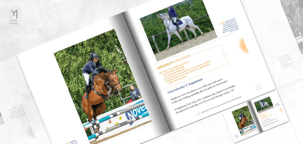 Core Conditioning for Horses - rozkładówka książki