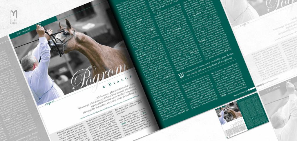 Koński Targ - rozkładówka tytułowa artykułu
