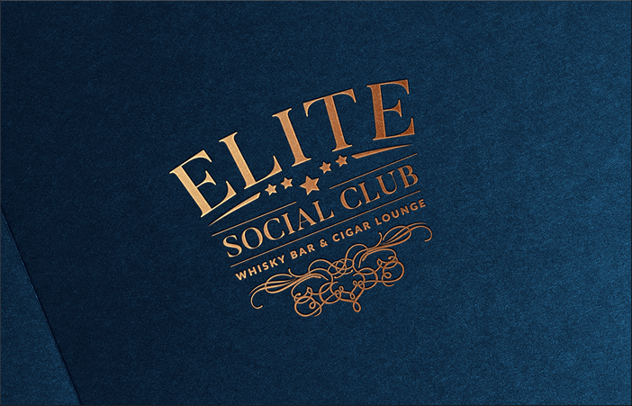 Elite Social Club Whisky Bar & Cigar Lounge - alternatywna wersja logo