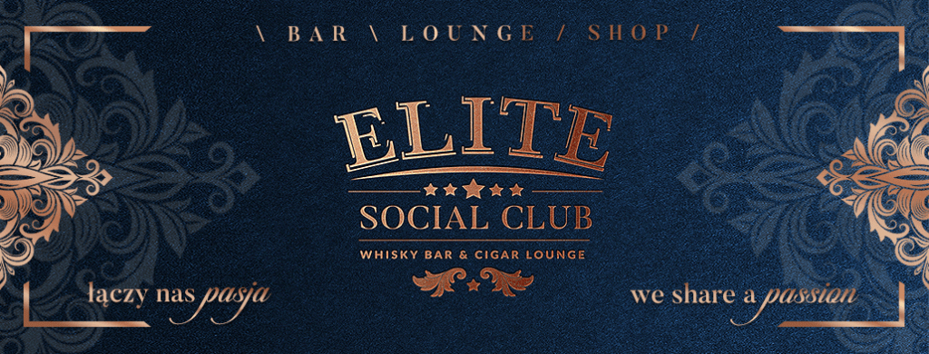 Elite Social Club Whisky Bar & Cigar Lounge - nagłówek na FB