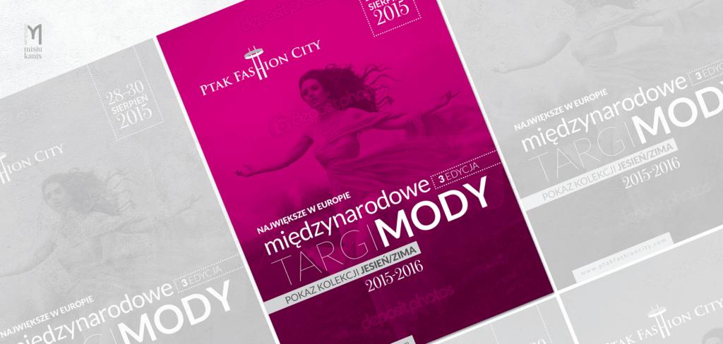 Reklama prasowa - Ptak Fashion City Targi Mody 2015