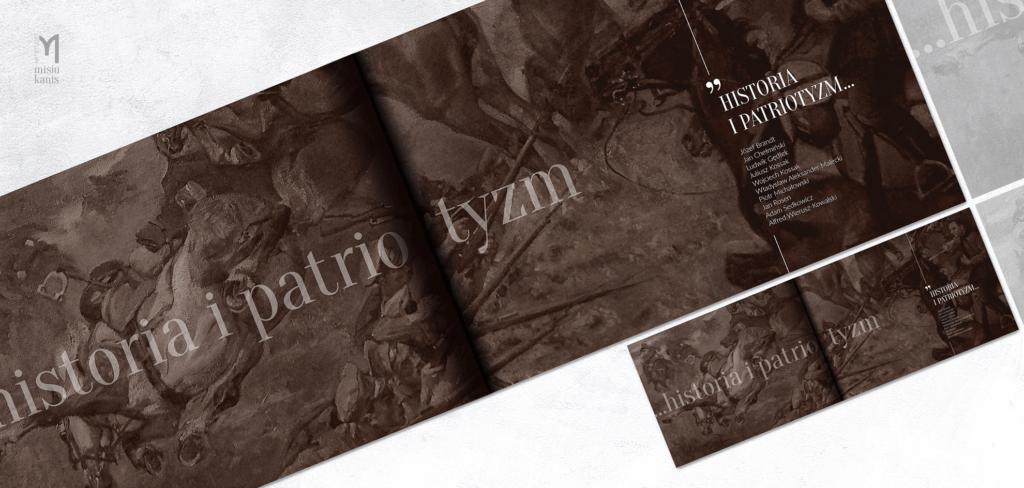 Spowiedź z wierzeń artystycznych - projekt rozkładówki albumu