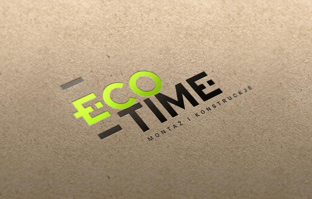 Eco Time - alternatywna wersja logo
