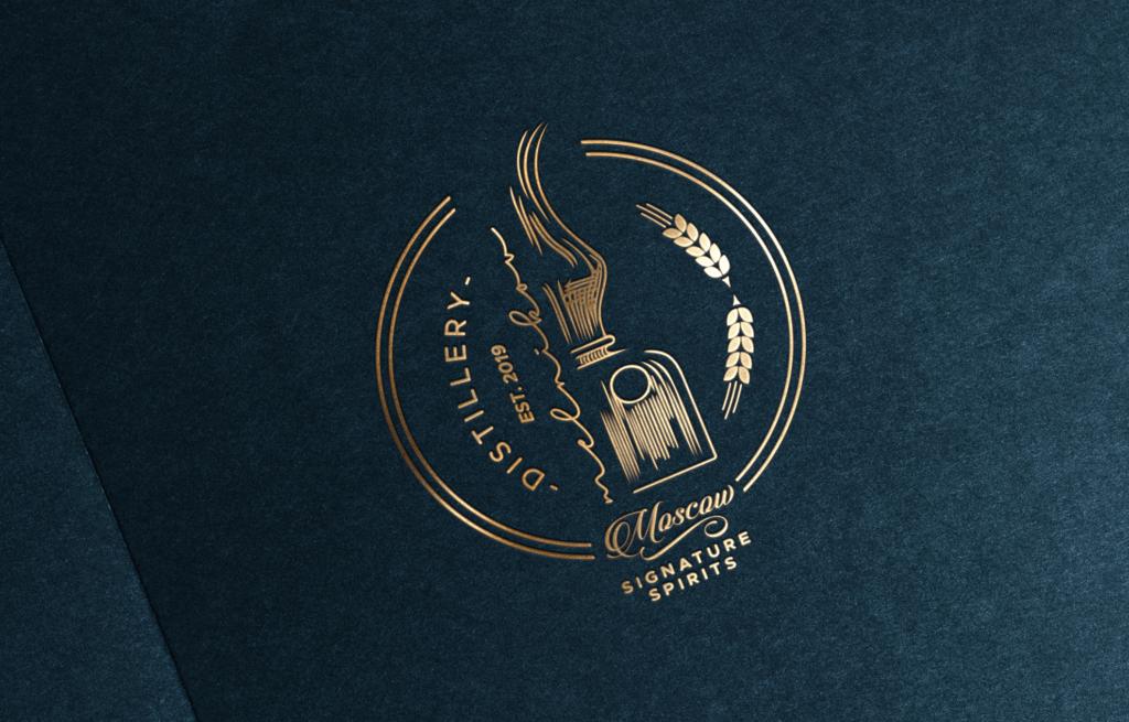 The Melnikov Distillery - alternatywna wersja logo