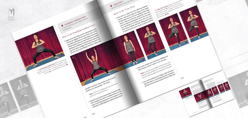 Yoga for Riders - rozkładówka książki