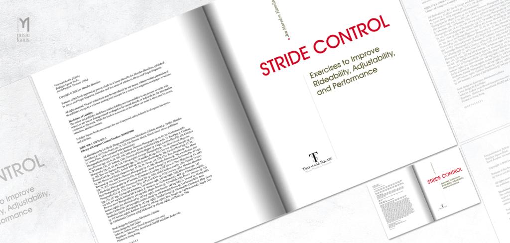 Stride Control - rozkładówka książki: strona tytułowa