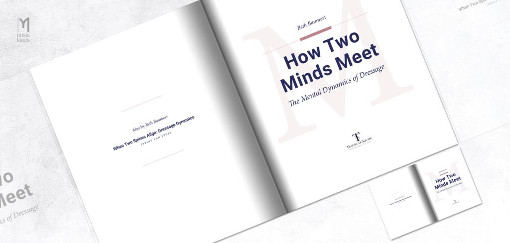 How Two Minds Meet - rozkładówka książki: strona tytułowa
