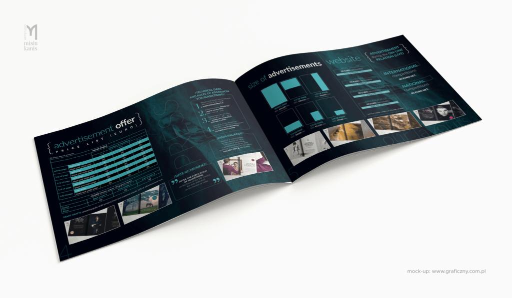 Świat Koni – broszura (media kit), format: A5 poziom