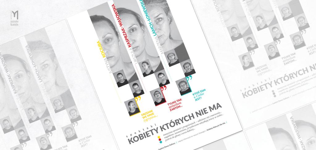 Plakat Kulturalny - Kobiety, których nie ma