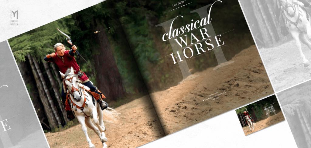 War Horse Magazine - rozkładówka tytułowa artykułu